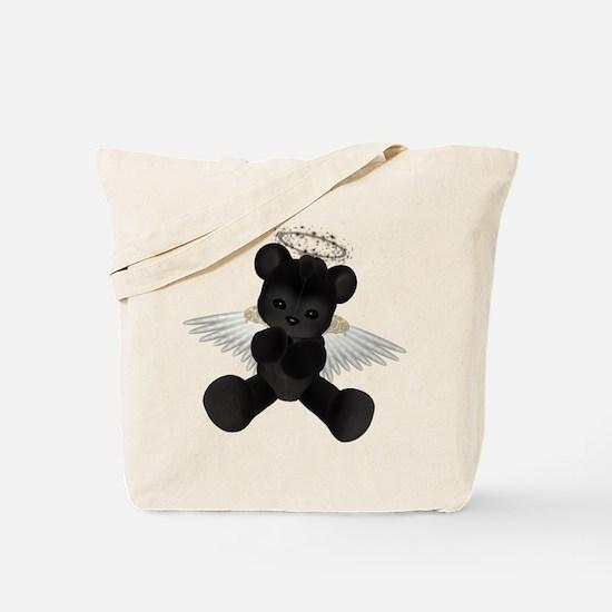 BLACK ANGEL BEAR Tote Bag