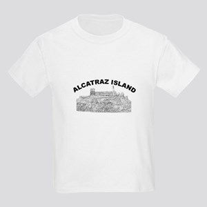 Alcatraz Island Kids Light T-Shirt