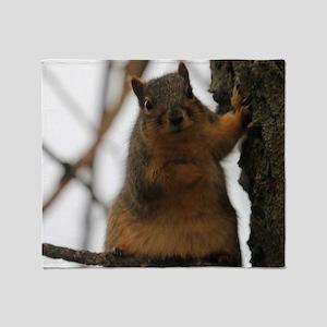squirrel Throw Blanket