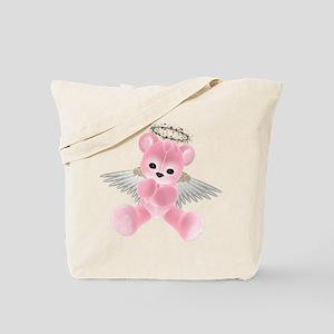 PINK ANGEL BEAR 2 Tote Bag