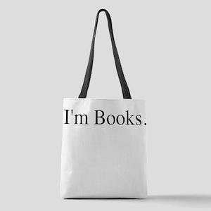 I'm Books Polyester Tote Bag