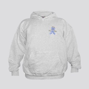 BLUE ANGEL BEAR 2 Kids Sweatshirt
