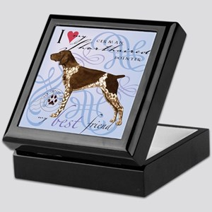 German Shorthaired Pointer Keepsake Box