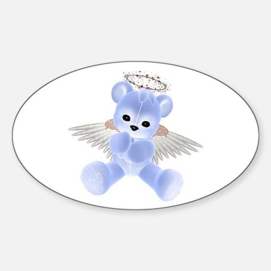 BLUE ANGEL BEAR 2 Oval Decal