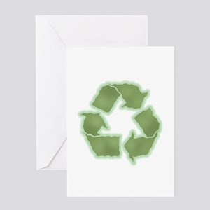 Recycle -Wavy Greeting Card