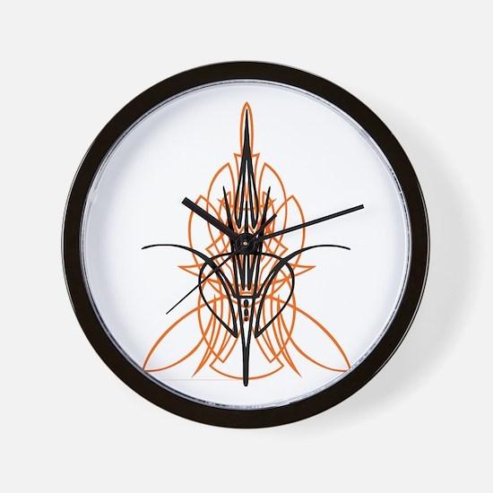 Kustom Striping 1 Wall Clock