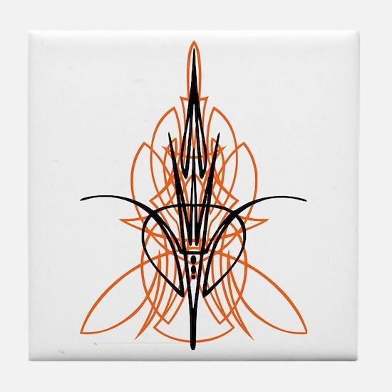 Kustom Striping 1 Tile Coaster