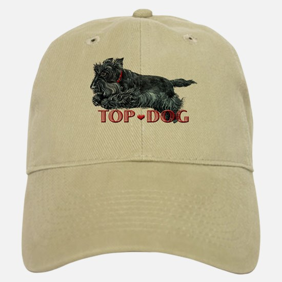 Top Dog Scottish Terrier Baseball Baseball Cap