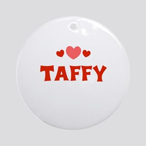 Taffy Ornament (Round)
