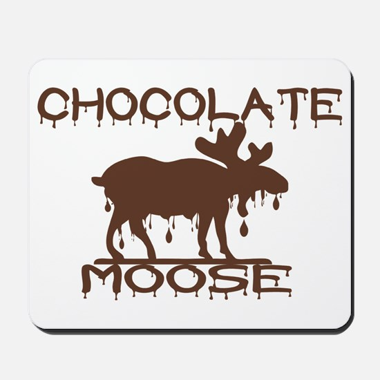 Chocolate Moose Mousepad