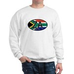 South Africa Colors Oval Sweatshirt