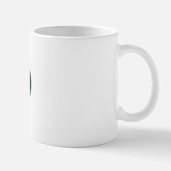 South Africa Colors Oval Mug