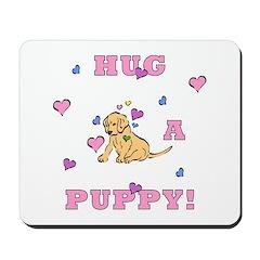 Puppy Hugs Mousepad