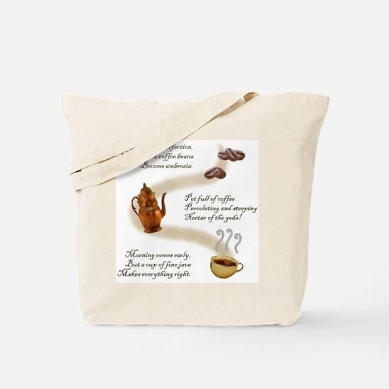 Coffee Haiku Tote Bag