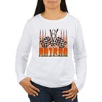 FLAMED HOT ROD Women's Long Sleeve T-Shirt