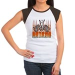 FLAMED HOT ROD Women's Cap Sleeve T-Shirt