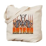 FLAMED HOT ROD Tote Bag