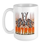 FLAMED HOT ROD Large Mug
