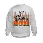 FLAMED HOT ROD Kids Sweatshirt