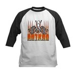 FLAMED HOT ROD Kids Baseball Jersey