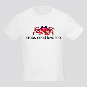 crabs need love too Kids Light T-Shirt