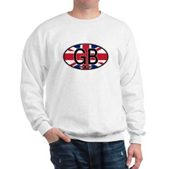 Great Britain Colors Oval Sweatshirt