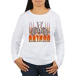 FLAMED RAT ROD Women's Long Sleeve T-Shirt
