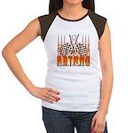 FLAMED RAT ROD Women's Cap Sleeve T-Shirt