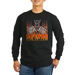 FLAMED RAT ROD Long Sleeve Dark T-Shirt