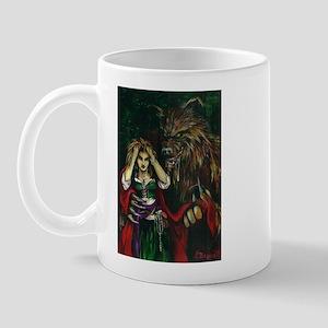 Werewolf and Red Mug