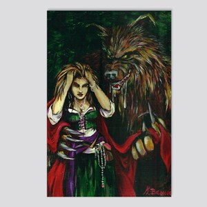 Werewolf and Red Postcards (Package of 8)