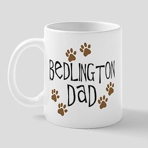 Bedlington Dad Mug