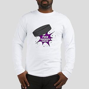 """PUCK"" Pancreatic Cancer 1 Long Sleeve T-Shirt"