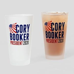 Cory Booker 2020 Drinking Glass