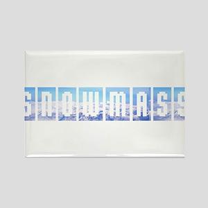 Snowmass, Colorado Rectangle Magnet