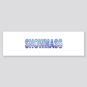 Snowmass, Colorado Bumper Sticker