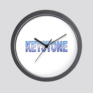 Keystone, Colorado Wall Clock