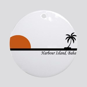 Harbour Island, Bahamas Ornament (Round)