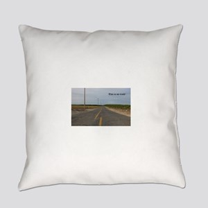 my race track, street race Everyday Pillow