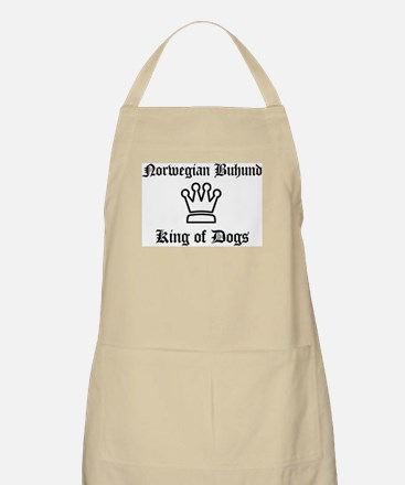 Norwegian Buhund - King of Do BBQ Apron