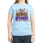 NITROUS FLAGS & FLAMES Women's Light T-Shirt