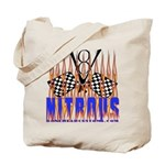 NITROUS FLAGS & FLAMES Tote Bag