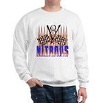 NITROUS FLAGS & FLAMES Sweatshirt