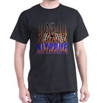 NITROUS FLAGS & FLAMES Dark T-Shirt