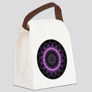 Entangled Mandala Canvas Lunch Bag