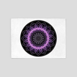 Entangled Mandala 5'x7'Area Rug