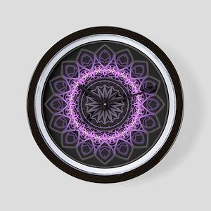 Entangled Mandala Wall Clock