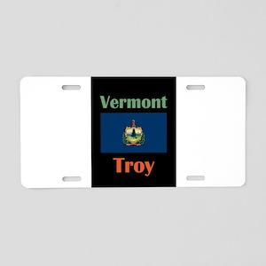 Troy Vermont Aluminum License Plate