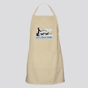 Jack London Terrier BBQ Apron