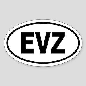 EVZ Oval Sticker
